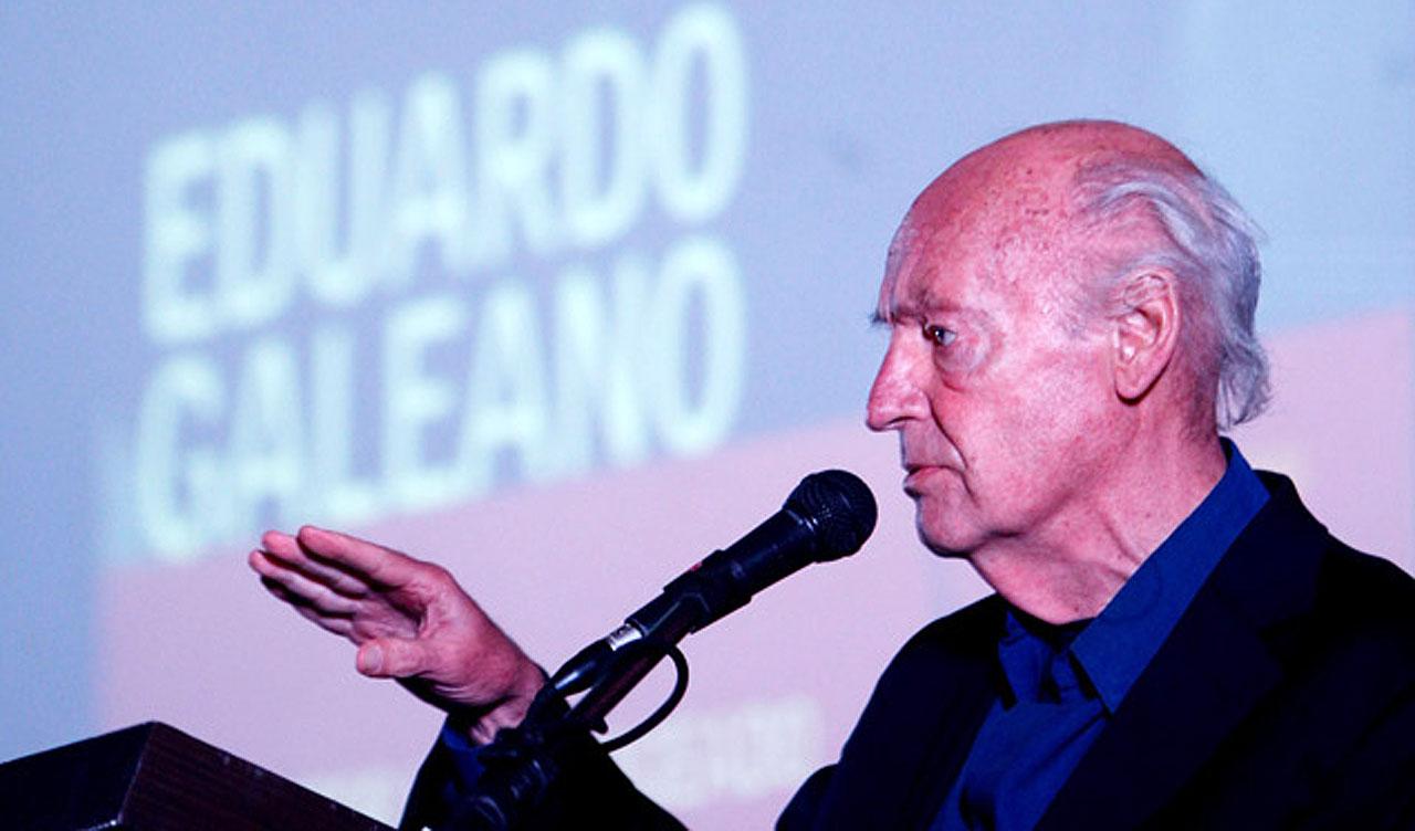 A literatura e o mundo perdem Eduardo Galeano
