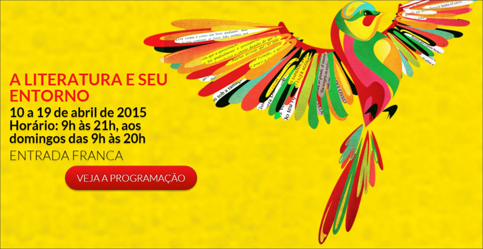 Final de semana com muitas atrações na 12a. Feira do Livro de Joinville (SC), confira e participe!