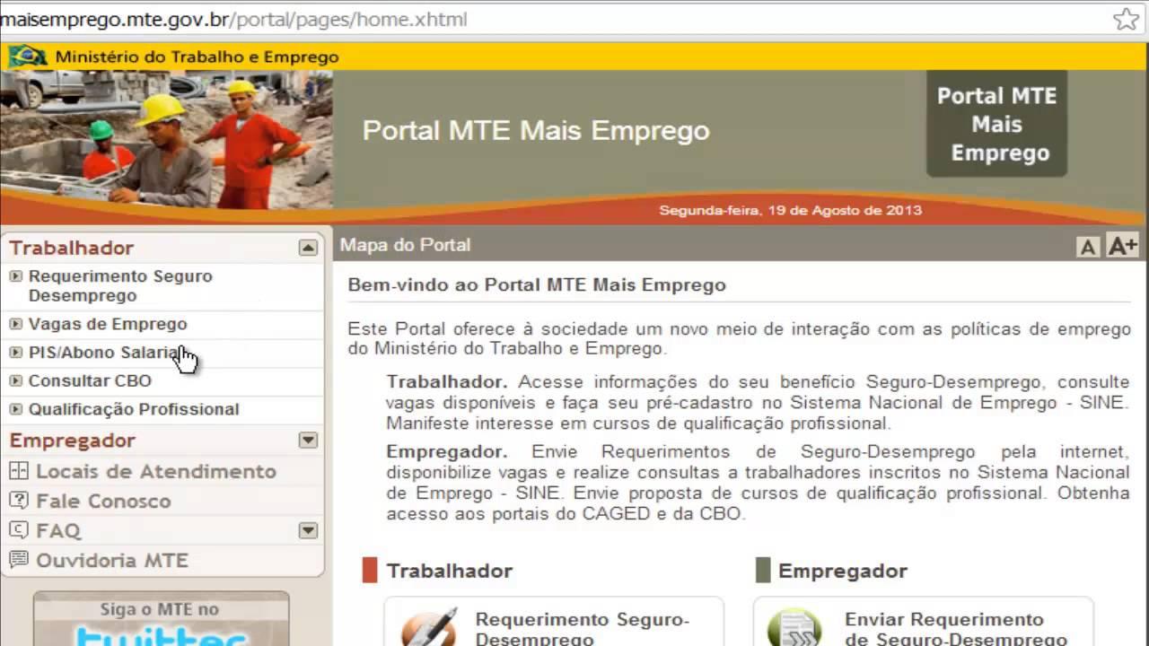 Portal Mais Emprego é lançado pelo Ministério do Trabalho e oferece oportunidades aos trabalhadores