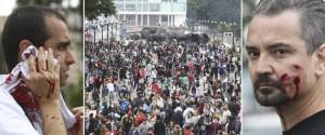 Ação da polícia de Beto Richa, governador do PR, relembra tempos da ditadura