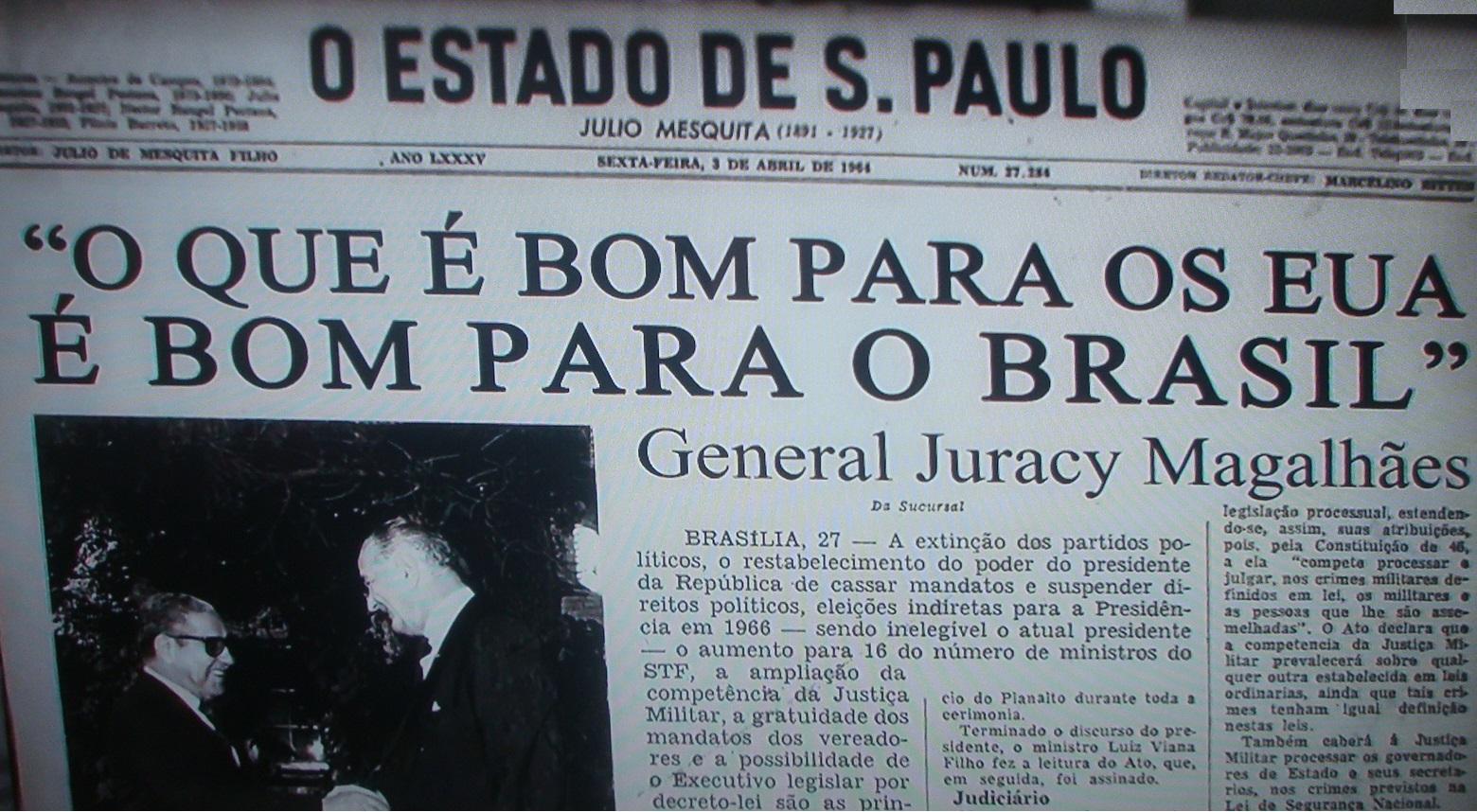 CIA: AI 5 transformou o Brasil em abertamente autoritário