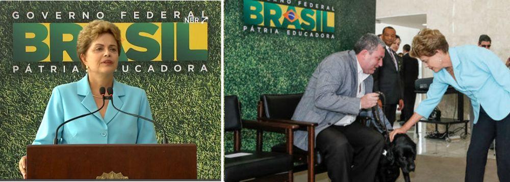 Dilma sanciona lei que garante os direitos das pessoas com deficiência