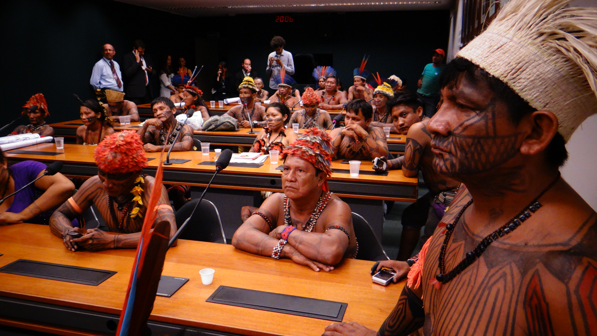 "Lei da Biodiversidade – ""Nos trouxeram só para dizer sim"", critica indígena"