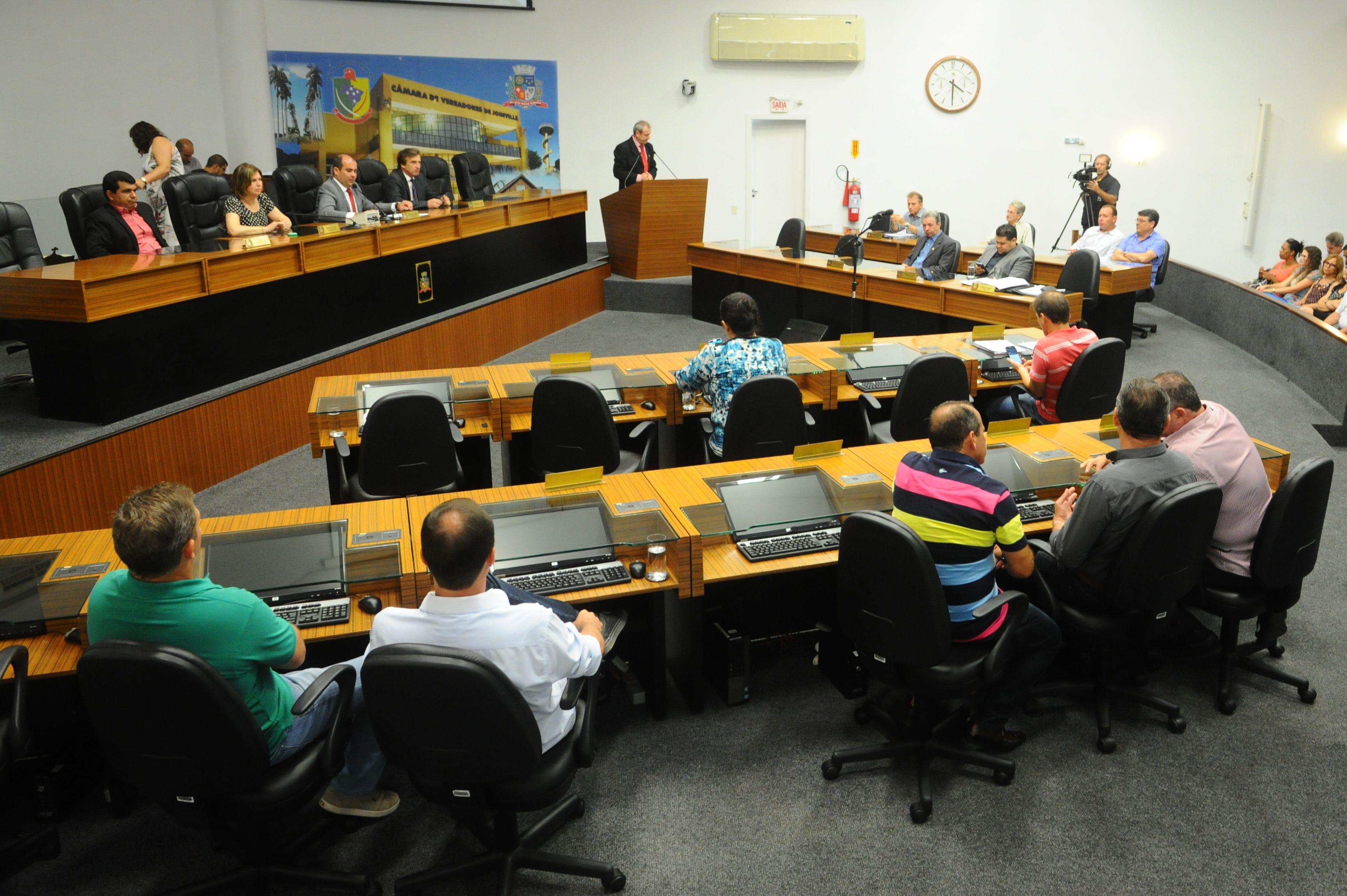 Câmara de Vereadores de Joinville (SC) definiu formação das comissões técnicas