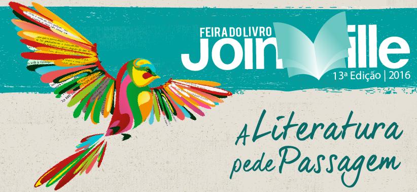 13a. Feira do Livro de Joinville (SC) abre oficialmente dia 1 de abril (sexta-feira)