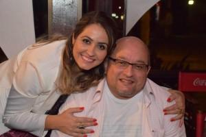 Gi Rabello é a musa inspiradora de Salvador Neto