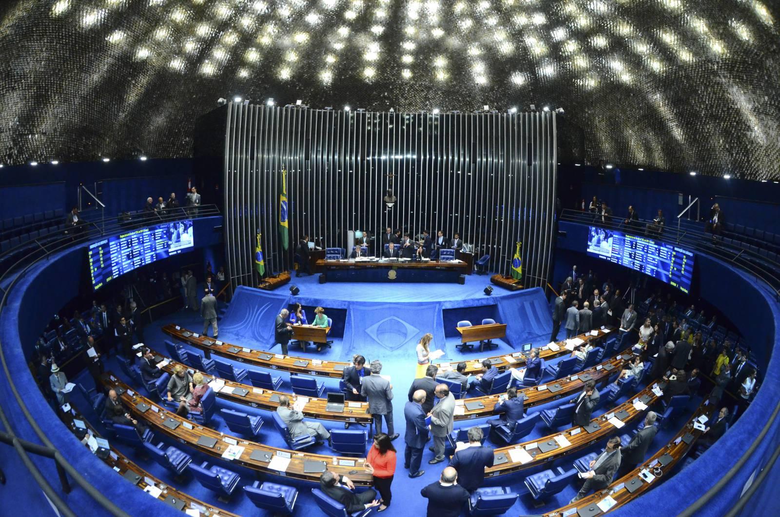 Senado elege hoje (25) a comissão que vai analisar o processo de impeachment