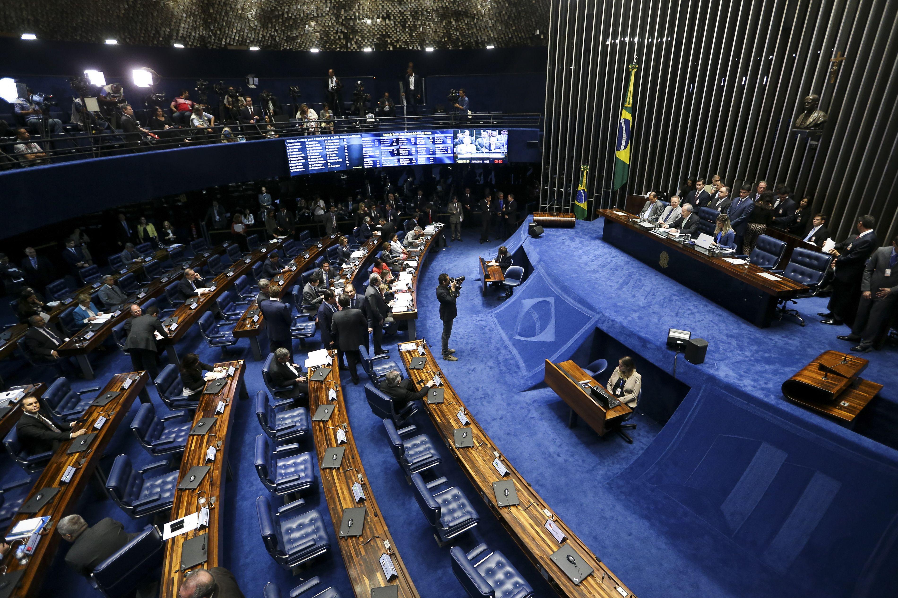 Crise dos Poderes – Senado entra com ação no STF para delimitar competências dos Poderes
