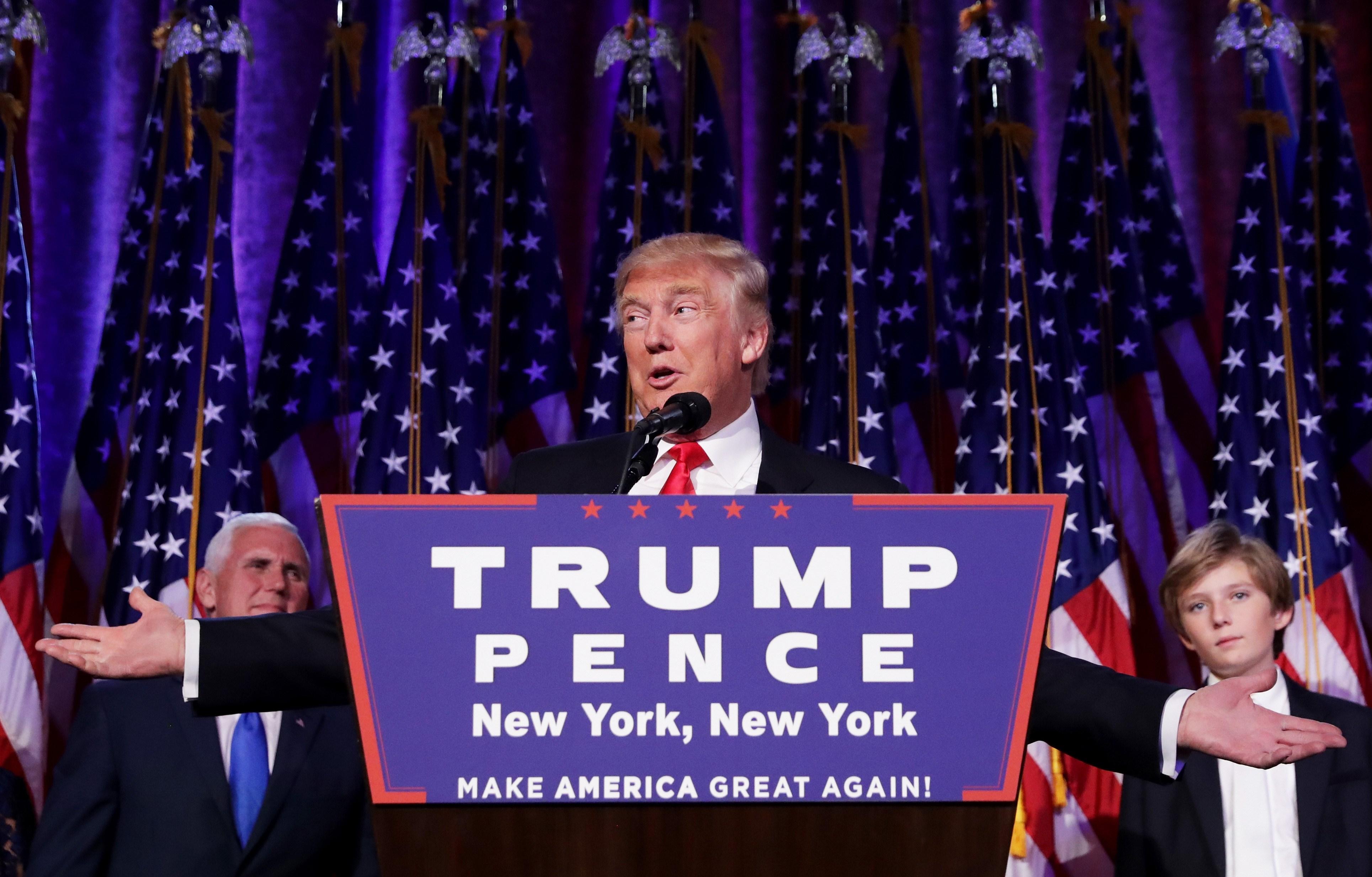 Donald Trump adota tom conciliador após confirmar vitória para a presidência dos EUA