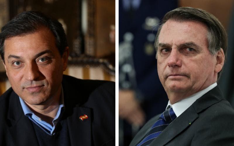 Bolsonaro ataca governador Carlos Moisés