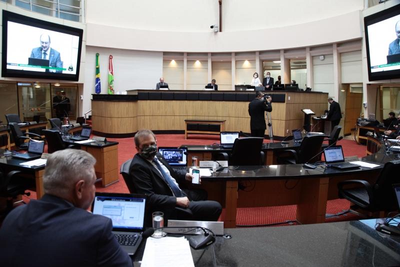 Assembleia Legislativa de SC retoma atividades nesta segunda-feira (1/6)