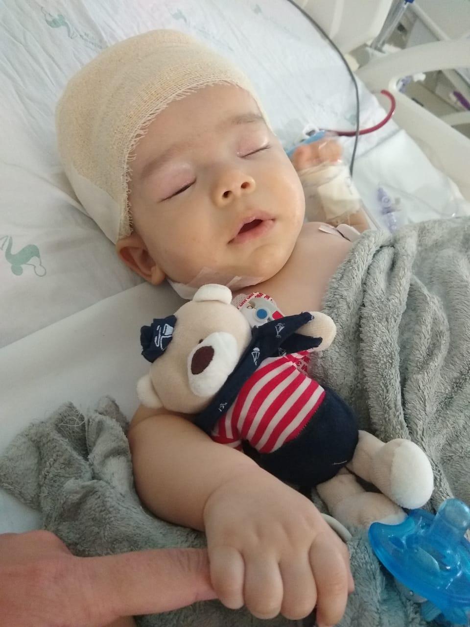 Campanha Todos por Joaquim – Cirurgia realizada nesta quinta-feira (30) foi bem sucedida