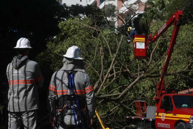 Ciclone atingiu 135 cidades de SC segundo levantamento do Governo