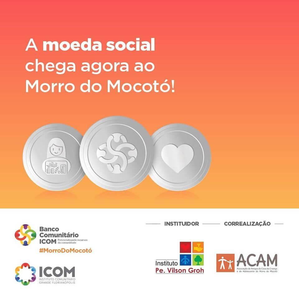 Moeda Social garante apoio a pessoas em vulnerabilidade social no Morro do Mocotó em Florianópolis (SC)