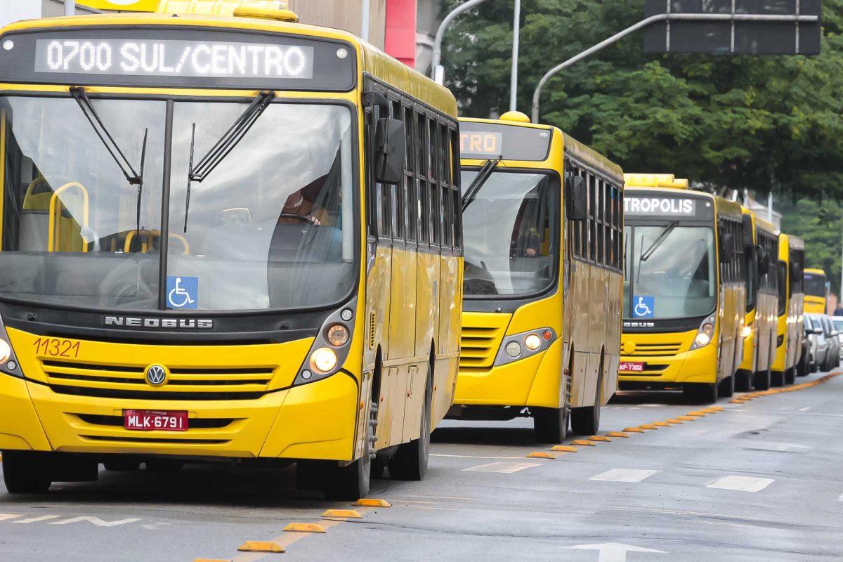 Coronavírus em SC – Suspensão da circulação de ônibus é prorrogada em Joinville