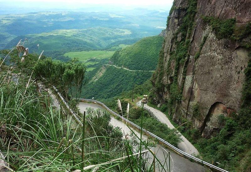 Serra do Corvo Branco é uma das obras que o Governo vai retomar na serra catarinense