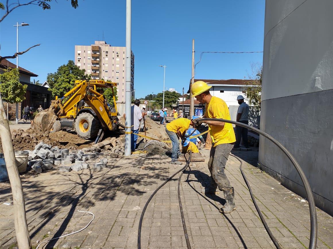 Força Tarefa tenta devolver a Via Gastronômica aos joinvilenses após desastre das obras do rio Mathias