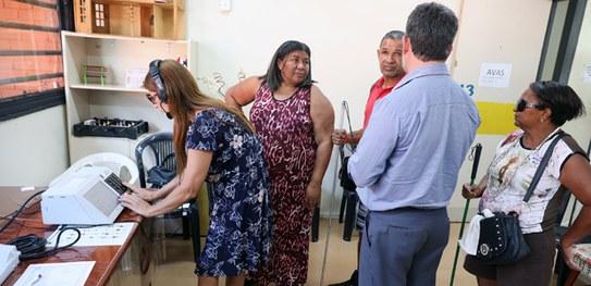 Eleitor com deficiência visual  poderá ouvir o nome do candidato na urna