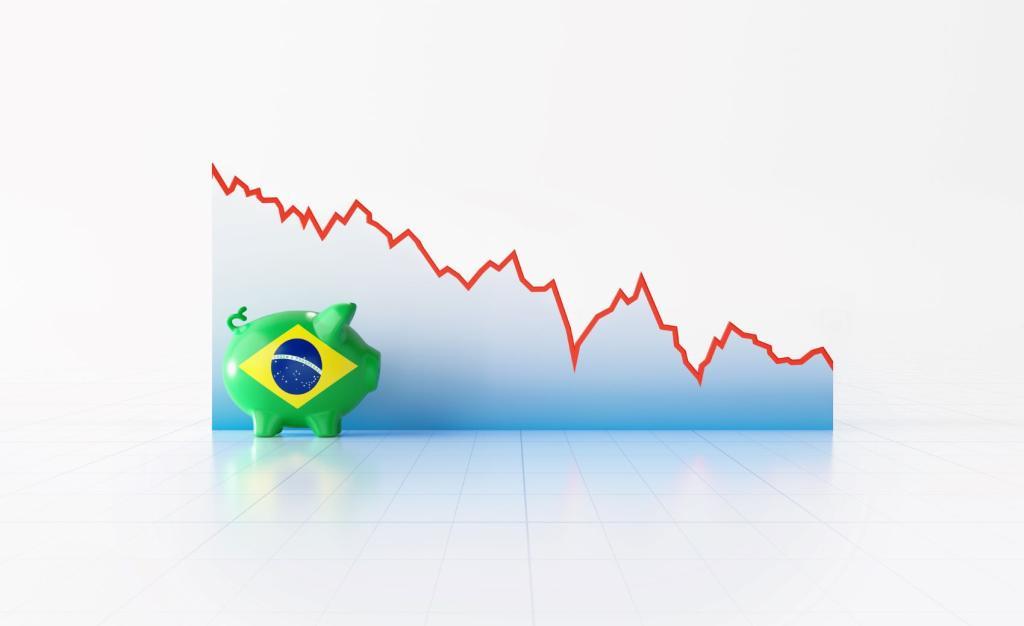 Brasil entra em recessão – PIB recua 9,7% no primeiro trimestre, diz IBGE